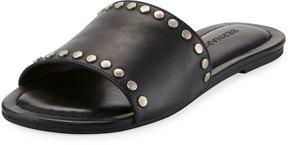 Bernardo Maggie Leather Studded Slide Sandal