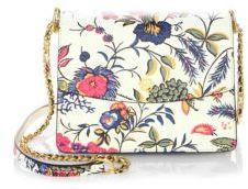 Tory Burch Parker Floral Print Shoulder Bag