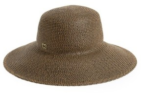 Eric Javits Women's 'Hampton' Straw Sun Hat - Brown