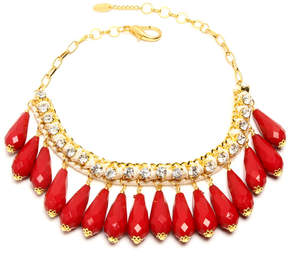 Amrita Singh Austrian Crystal & 18k Gold-Plated Milly Necklace