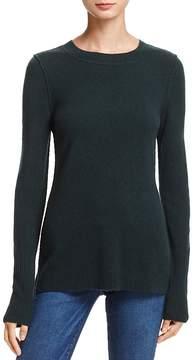 Aqua Cashmere Fitted Crewneck Sweater - 100% Exclusive