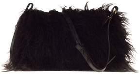 Dries Van Noten Feather Detail Shoulder Bag