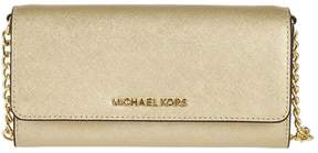Michael Kors Jet Set Travel Wallet Shoulder Bag - PALE GOLD - STYLE
