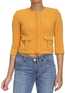 Elisabetta Franchi Blazer Suit Jacket Woman