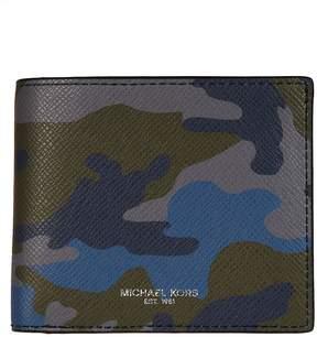 Michael Kors Harrison Camouflage Billfold Wallet