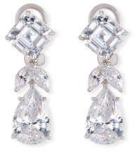 FANTASIA Mixed-Cut CZ Short Drop Earrings