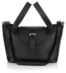 Meli-Melo Women's Black Leather Handbag.