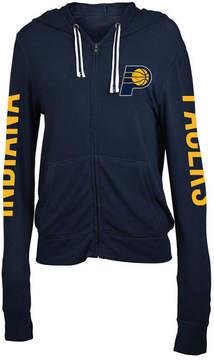 5th & Ocean Women's Indiana Pacers Sweater Knit Full-Zip Hoodie