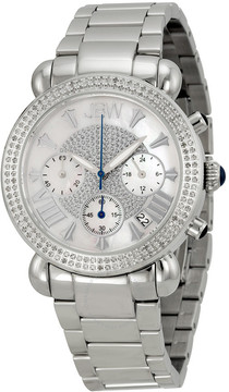 JBW Victory Chronograph Mother of Pearl Diamond Ladies Watch