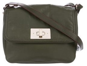 Kate Spade Leather Crossbody Bag - GREEN - STYLE