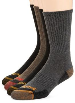 Timberland Four-Pack Outdoor Leisure Crew Socks