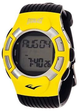 Everlast Wireless Fitness Tracker Watch Yellow