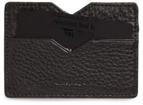 Women's Mackage Wes Leather Card Case - Black