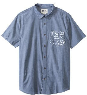 Reef Men's Barbadozer Short Sleeve Shirt 8129133