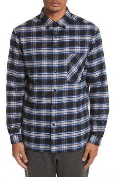 TOMORROWLAND Men's Bradford Plaid Flannel Sport Shirt