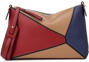 Loewe Puzzle Pochette leather shoulder bag