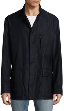 Luciano Barbera Men's Panel Seaming Wool Jacket