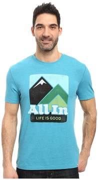 Life is Good All In Mountains Cool Tee Men's T Shirt