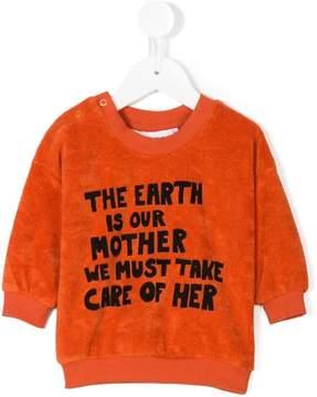 Mini Rodini mother earth print sweatshirt