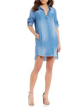 Chelsea & Violet Frayed Hem Dress