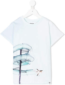 Molo water slide-print T-shirt