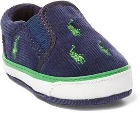 Ralph Lauren Baby Boy Bal Harbour Slip-On Sneaker