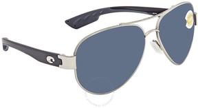 Costa del Mar Grey Aviator Sunglasses SO 21 OGP