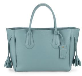 Longchamp Penelope Textured Tote - LIGHT BLUE - STYLE