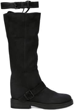Ann Demeulemeester strap detail boots
