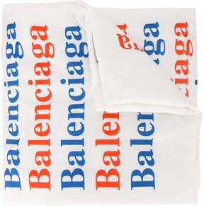 Balenciaga Monogram padded shawl