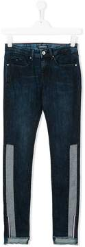 Tommy Hilfiger Junior TEEN contrasting panel jeans