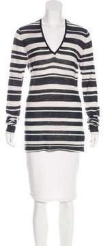 Enza Costa Striped Cashmere Top