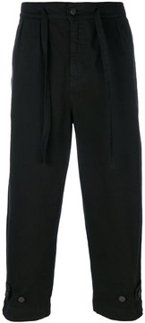 Paura cropped tailored trousers