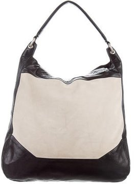 Narciso Rodriguez Suede & Leather Hobo
