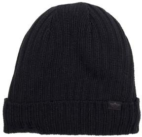 Dockers Men's Sherpa-Lined Ribbed Knit Cuffed Beanie