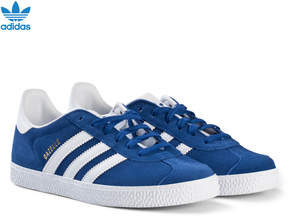 adidas Blue Gazelle Junior Trainers