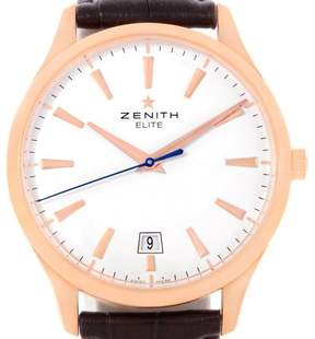 Zenith Captain 18.2020.670 Central Second 18K Rose Gold 40.0 mm Mens Watch
