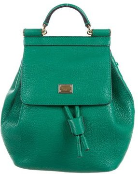 Dolce & Gabbana Sicily Mini Backpack - GREEN - STYLE