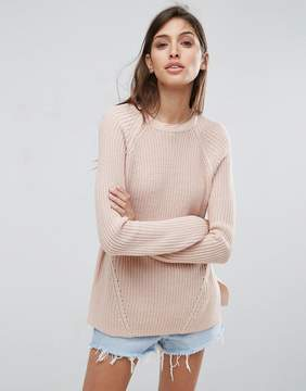 Asos Ultimate Chunky Sweater With Crew Neck