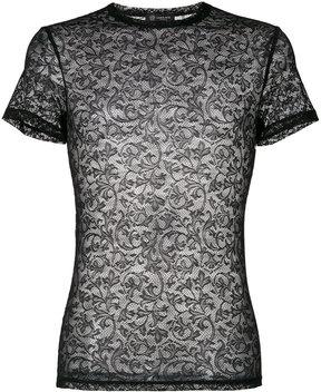 Versace lace T-shirt