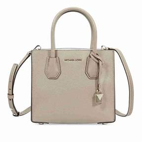 Michael Kors Mercer Medium Pebbled Leather Crossbody Bag- Truffle - ONE COLOR - STYLE