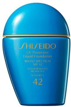 Shiseido Sun Uv Protective Liquid Foundation Spf 42 - Dark Beige