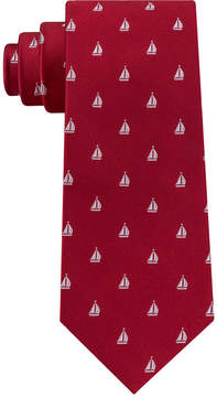 Club Room Men's Sailboat Silk Tie, Created for Macy's