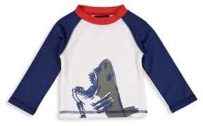 Andy & Evan Baby Boy's& Little Boy's Shark Rashguard Tee