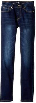 7 For All Mankind Kids Slimmy Jeans in Santiago Canyon Girl's Jeans