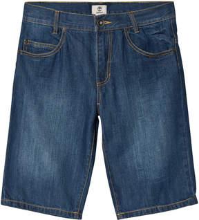 Timberland Kids Blue Dark Wash Denim Shorts