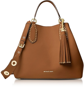 Michael Kors Brooklyn Large Luggage Pebbled Leather Tote - ONE COLOR - STYLE