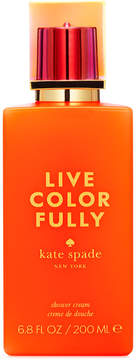 Kate Spade New York Live Colorfully Shower Cream, 6.8 Oz