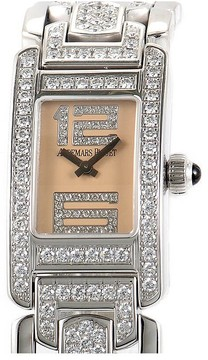 Audemars Piguet Promesse Diamond 18 kt White Gold Ladies Watch
