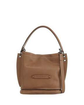 Longchamp Leather 3D Crossbody Bag - TAUPE - STYLE